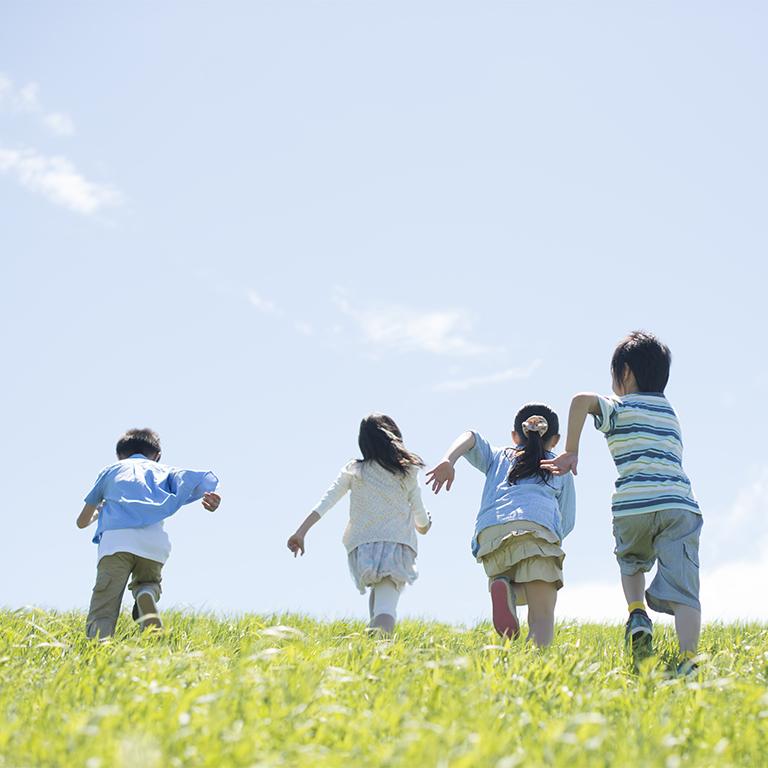子どもの成長を見守り楽しめる人
